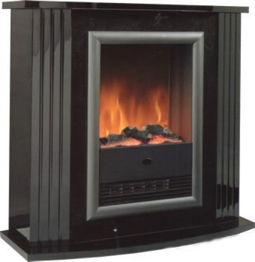 Dimplex Mozart Black Electric Fireplace Suite Cheapest